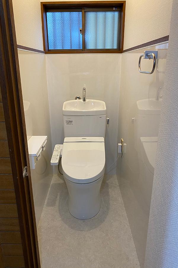 F様邸トイレ施工後